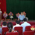 Thường trực HĐND huyện làm việc với HĐND xã Đặng Sơn