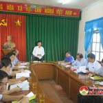 Thường trực HĐND huyện làm việc với HĐND xã Đông Sơn