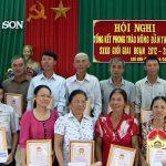 Hội nông dân xã Lưu Sơn tổ chức tổng kết phong trào nông dân thi đua SXKD giỏi giai đoạn 2012-2016