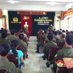 Công an huyện Đô Lương tổ chức lớp tập huấn nghiệp vụ  cho công an xã, thị trấn năm 2016