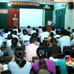 Đô Lương tổ chức lớp bồi dưỡng nghiệp vụ công tác mặt trận cơ sở năm 2016