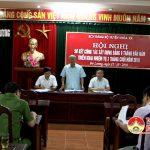 BCH Đảng bộ huyện Đô Lương: Hội nghị sơ kết công tác xây dựng Đảng 9 tháng đầu năm, triển khai nhiệm vụ 3 tháng cuối năm 2016.