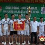 Đô Lương tổ chức chung kết giải bóng chuyền cán bộ công chức năm 2016