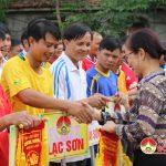 Đô Lương tổ chức giải bóng chuyền cán bộ công chức năm 2016.