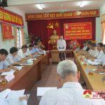 Hội cựu chiến binh giao ban cụm thi đua 5 huyện