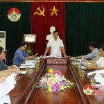 UBND huyện triển khai công tác chuẩn bị ra quân thực hiện chiến dịch làm giao thông thủy lợi
