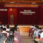 Huyện ủy Đô Lương tổ chức tập huấn công tác dân vận năm 2016.