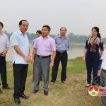 Đoàn giám sát của thường trực HĐND tỉnh kiểm tra thực tế tại huyện Đô Lương