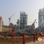 Nhà máy xi măng Sông Lam tổ chức lễ đốt lò bắt đầu hoạt động  sản xuất clinke.