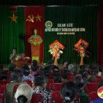 Ban liên lạc chiến sỹ nữ Trường Sơn giao lưu gặp mặt nhân ngày 20/10.