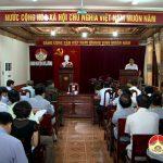 UBND huyện tổ chức hội nghị thường kỳ tháng 10/2016.