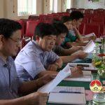 Thường trực HĐND huyện làm việc với xã Bắc Sơn