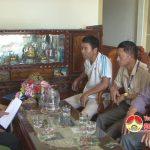 Chi cục thuế Đô Lương tổ chức cưỡng chế nợ đọng thuế đối với các hộ kinh doanh vận tải ở xã Thịnh Sơn
