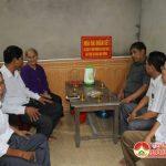 Thị trấn Đô Lương tổ chức lễ bàn giao nhà tình nghĩa cho  bà Nguyễn Thị Thỉnh.