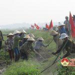 Xã Lưu Sơn tổ chức lễ ra quân làm giao thông thuỷ lợi