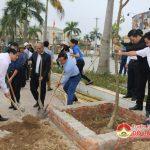 Đô Lương tổ chức phát động trồng cây ngày chủ nhật xanh