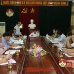 HĐND huyện tổ chức hội nghị bàn và thống nhất nội dung, chương trình kỳ họp thứ 3 HĐND huyện, khóa XIX – Nhiệm kỳ 2016 – 2021.