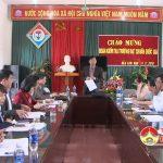 Sở GD&ĐT thẩm định trường THCS Nguyễn Thái Nhự đạt chuẩn quốc gia