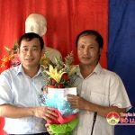 Đồng chí Hoàng Văn Hiệp – Phó chủ tịch UBND huyện dự ngày hội ĐĐK tại xóm 2 xã Bồi Sơn