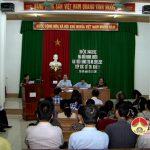 Đại biểu HĐND huyện tiếp xúc cử tri xóm 1