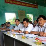 Ông Hoàng Viết Đường – Phó chủ tịch HĐND tỉnh tiếp xúc cử tri tại xã Bài Sơn