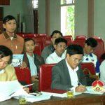 Đà Sơn kiểm điểm công tác lãnh đạo, chỉ đạo điều hành của tập thể BTV, BCH Đảng bộ xã năm 2016.