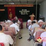 Đại biểu HĐN D tỉnh và huyện Đô Lương tiếp xúc cử tri xã Giang Sơn Tây