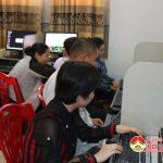 Trung tâm văn hóa Đô Lương tổ chức tập huấn kỹ năng sử dụng Internet cho người khiếm thị