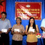 Xóm 7, xã Lạc Sơn tổ chức ngày hội Đại đoàn kết toàn dân