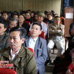Đảng bộ xã Minh Sơn tổng kết công tác xây dựng Đảng năm 2016.