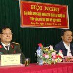 Đại biểu Quốc hội tiếp xúc cử tri xã Đặng Sơn