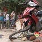 Đô Lương: xảy ra vụ tai nạn giao thông giữa xe máy với ô tô tải