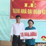 Xóm 3, xã Thịnh Sơn tổ chức ngày hội Đại đoàn kết toàn dân
