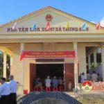 Xóm 7, xã Trung Sơn tổ chức ngày hội đại đoàn kết toàn dân tộc