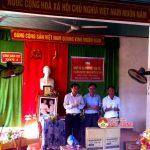 Đồng chí Hoàng Viết Đường – Phó chủ tịch HĐND tỉnh về dự ngày hội đại đoàn kết tại xóm 1, xã Xuân Sơn