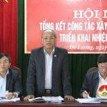 BCH Đảng bộ huyện khóa XX tổng kết công tác xây dựng Đảng năm 2016
