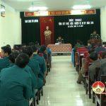 BCHQS huyện tổng kết thực hiện công tác Quân sự – Quốc phòng năm 2016