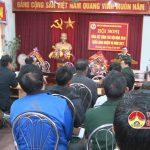 Hội CCB huyện Đô Lương tổng kết công tác hội năm 2016