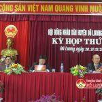 Đô Lương khai mạc kỳ họp thứ 3 HĐND huyện khóa XIX, nhiệm kỳ 2016 – 2021