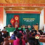 HĐND xã Lưu Sơn tổ chức kỳ họp thứ 3 nhiệm kỳ 2016 – 2012.