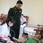 Đô Lương tổ chức khám tuyển nghĩa vụ quân sự năm 2017