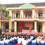 Trường cao đẳng nghề số 4 phối hợp với Trung tâm GDTX Đô Lương khai giảng 3 lớp trung cấp nghề