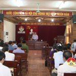 Đô Lương tổ chức hội nghị giao ban  thực hiện nhiệm vụ kinh tế xã hội tháng 12