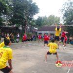 Hội CCB xã Lạc Sơn tổ chức giải bóng chuyền chào mừng ngày thành lập hội