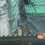 Đà Sơn, Đô Lương xảy ra vụ chập cháy cột điện