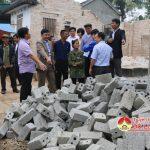 Hội nông dân huyện Đô Lương hỗ trợ các trường mần non khó khăn 12 vạn viên gạch xây dựng phòng học