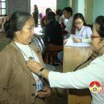 Hội từ thiện Phước Điền khám, phát thuốc miễn phí tại xã Hồng Sơn