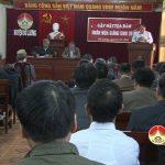 UBMTTQ huyện tổ chức tọa đàm gặp mặt nhân dịp lễ noel năm 2016