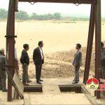 Trạm bơm Thuận Lý, xã Thuận Sơn ngập trong đất, cát