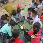 Trường tiểu học Lưu Sơn tổ chức hoạt động ngoài giờ lên lớp  Ngày tết quê em